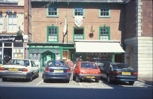 The Green Lantern Cafe at Great Torrington