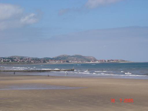 Bae Colwyn Beach