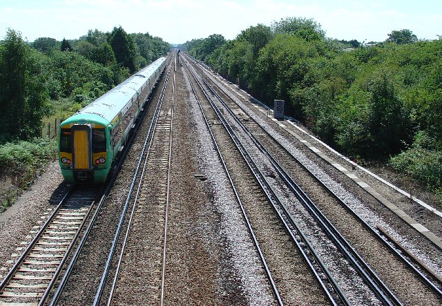 London to Brighton Railway Line, Tinsley Green, Crawley, West Sussex