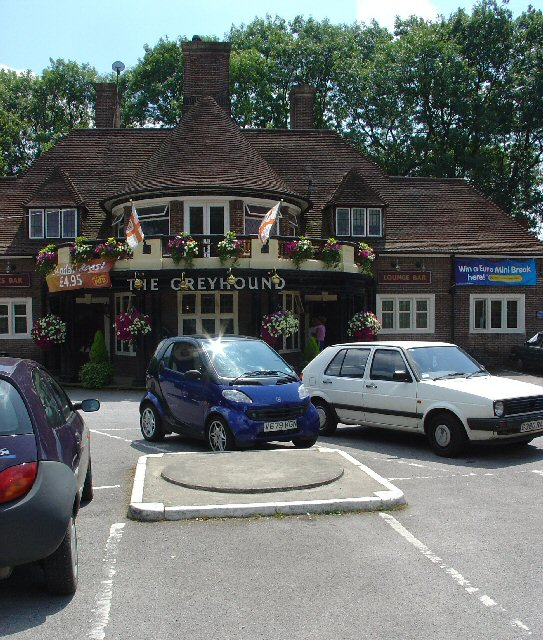 The Greyhound Pub, Tinsley Green, Crawley, West Sussex - Venue for the Annual World Marbles Championships.