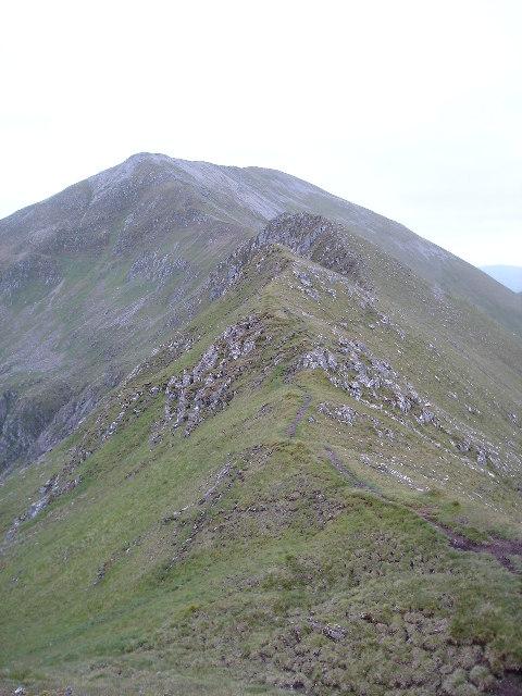 Ridge to Sgurr a Bhealaich Dheirg