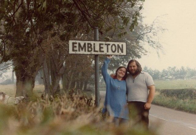 Embleton - village limits