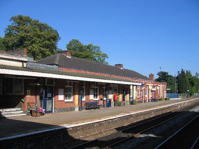 Dorridge Station