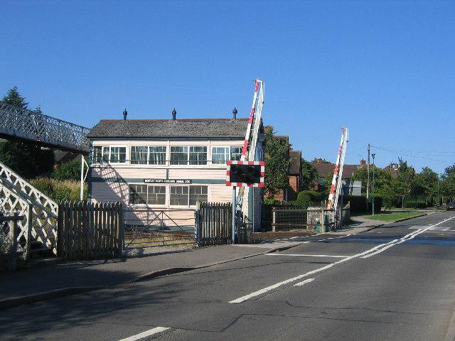 Bentley Heath Level Crossing