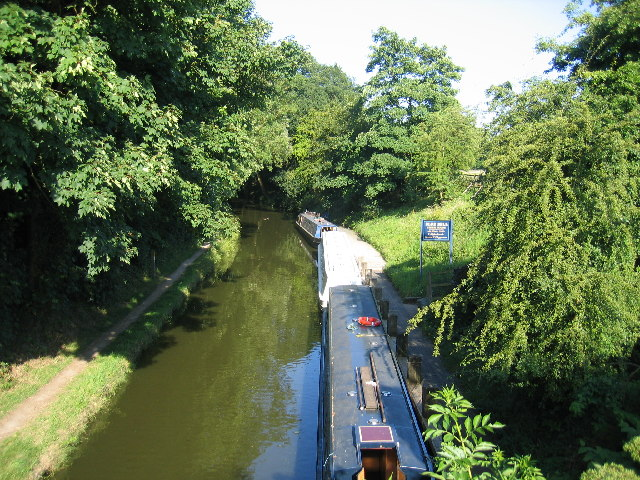 Stratford upon Avon Canal at Waring's Green