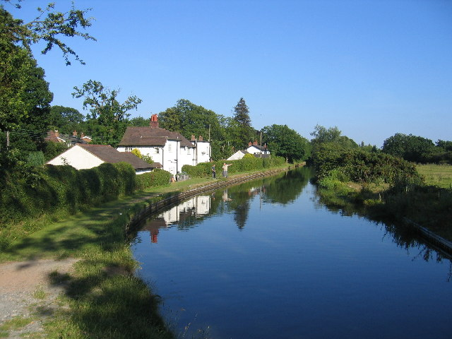 The Stratford upon Avon Canal at Lapworth