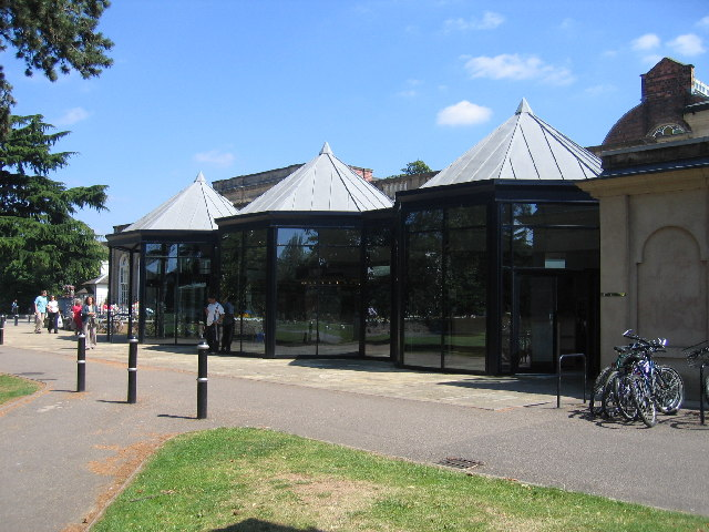 New Entrance to Pump Rooms, Information Office and Library