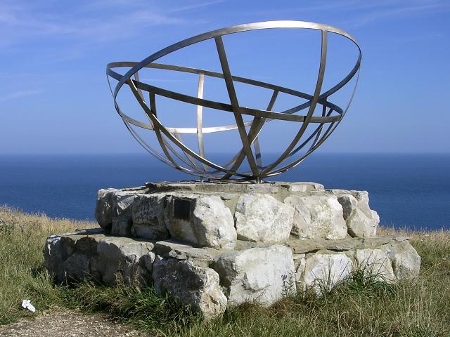 Radar research memorial, St Aldhelm's Head, Isle of Purbeck