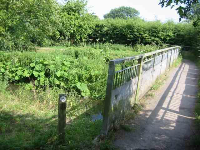 Footbridge at Ver Walk Drop Lane