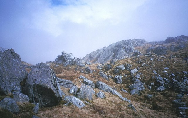 West ridge of Sgurr an Utha