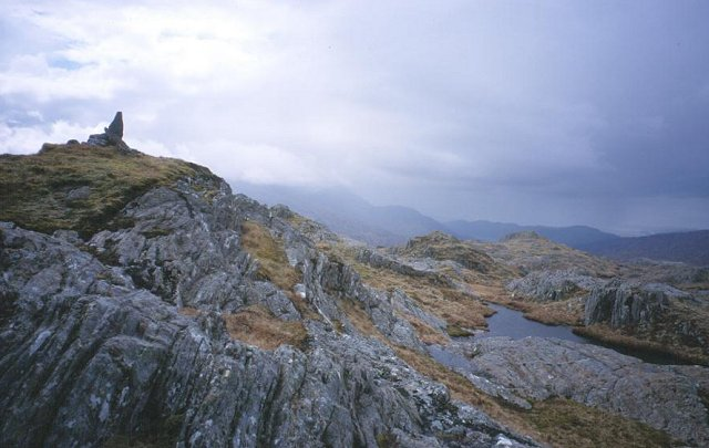 Summit of Glas Charn