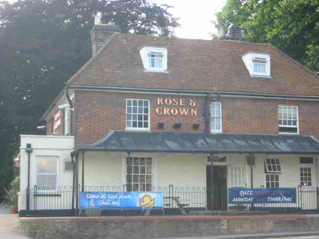 Rose and Crown Pub Kings Langley