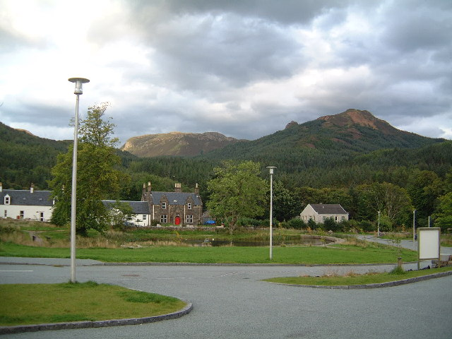 Balmacara Square near Lochalsh
