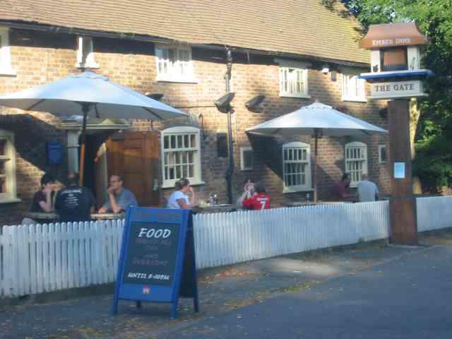 The Gate Pub at Northwood.
