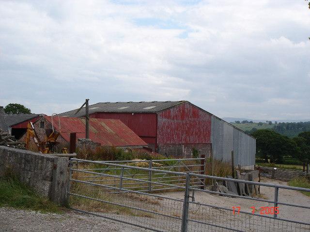 Farm Buildings at Cefn Meiriadog