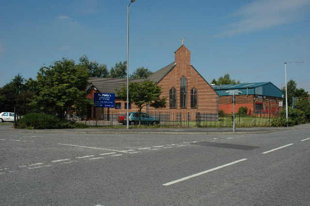 St.Philips Church, Derbyshire Hill Road, St.Helens