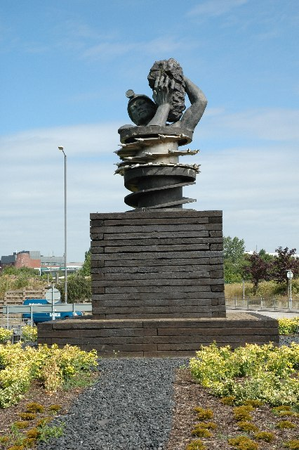 Monument to the Colliers of St.Helens