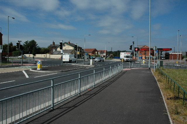Junction with Elton Head Road and Lowfield Lane, St.Helens