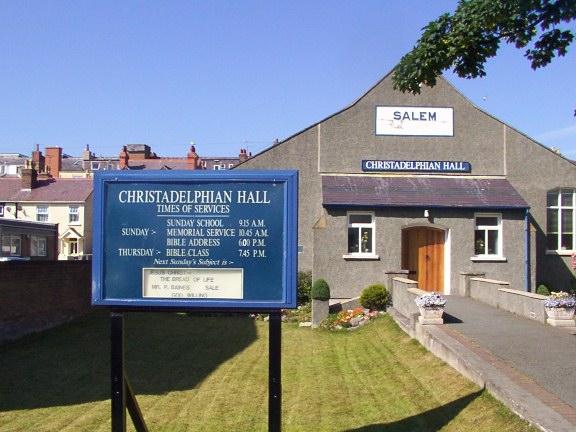 Christadelphian Hall in old Welsh Chapel called SALEM