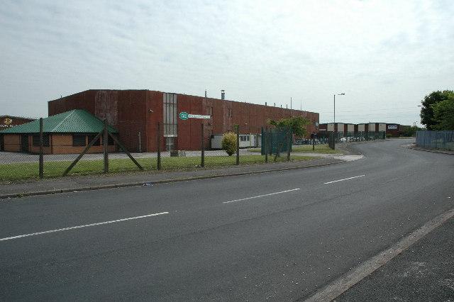 Industrial Estate, St.Helens Junction