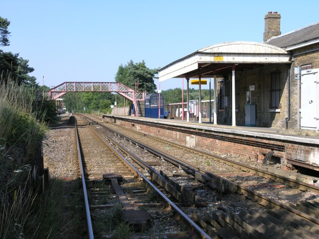 Yalding Railway Station