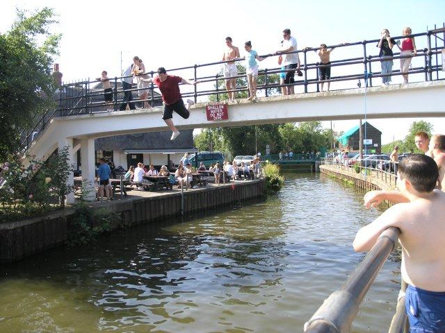 Bridge over Canal to the Anchor Inn
