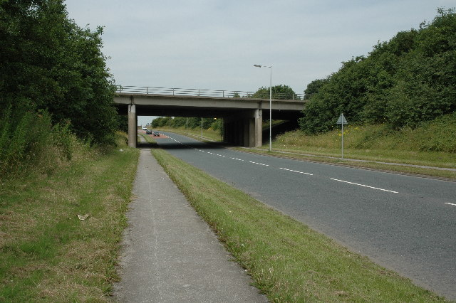 M62 crossing A569