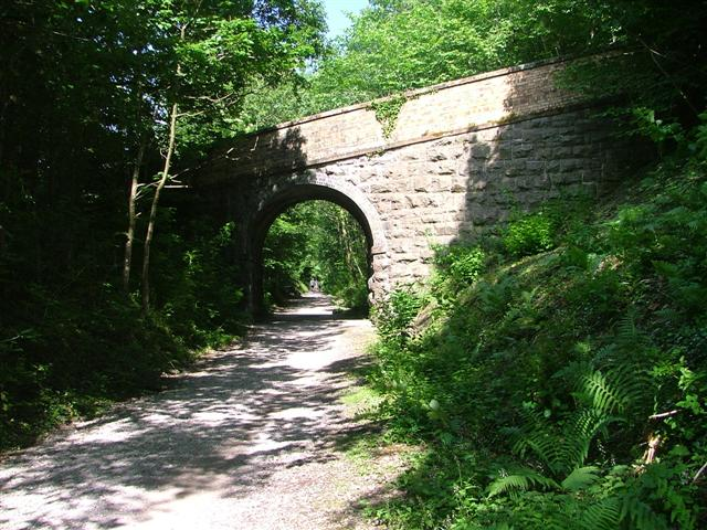 Bridge to Briery, Keswick Railway Cyclepath