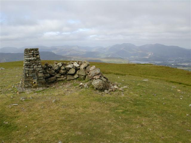 Clough Head, Trig Point