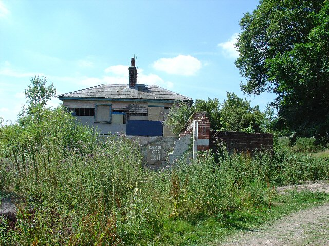 Derelict Estate Cottage, Buxted Park Estate, Buxted, East Sussex