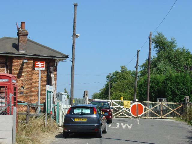 Disused Level Crossing, Warnham Station, West Sussex.