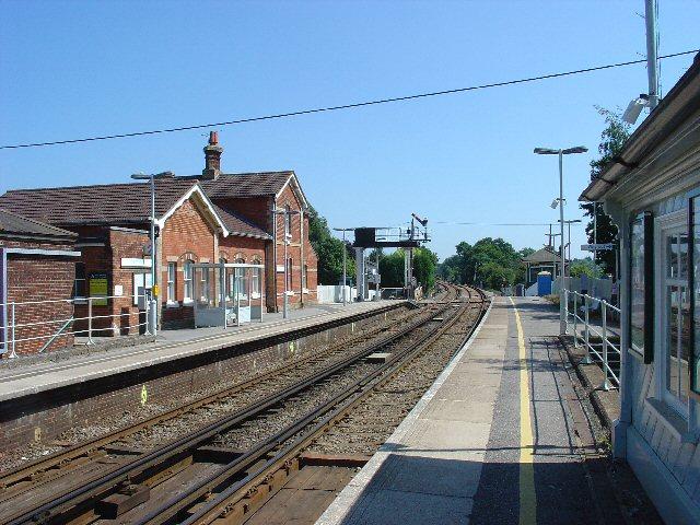 Warnham Railway Station, West Sussex.