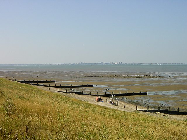 Southend from Grain