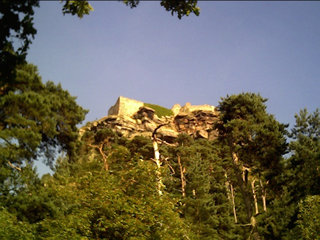Beeston Castle near Chester
