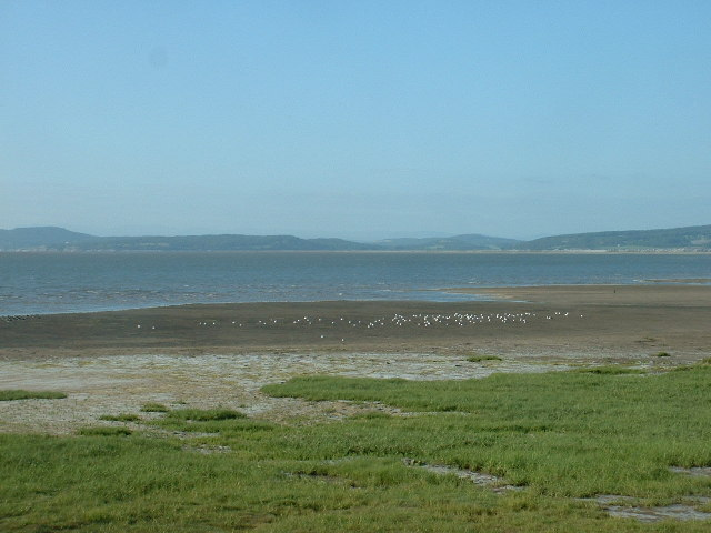 Morecambe Bay shoreline