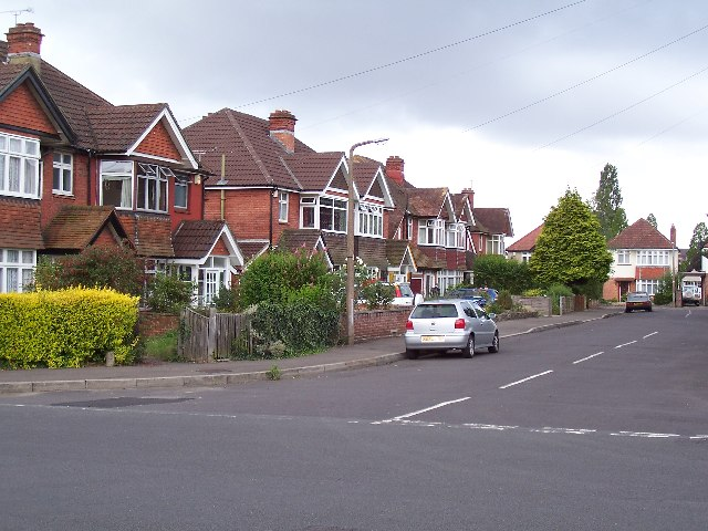 Junction of Luccombe Place and Luccombe Road, Upper Shirley