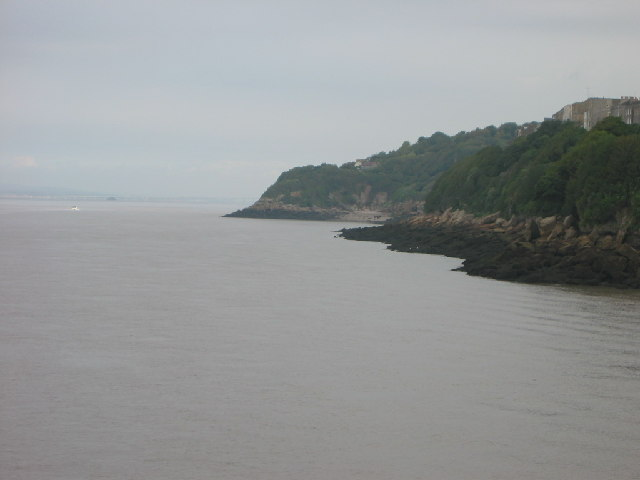 Cliff towards Ladye Bay, Clevedon