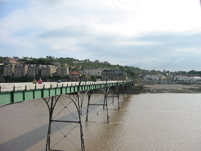 Clevedon front