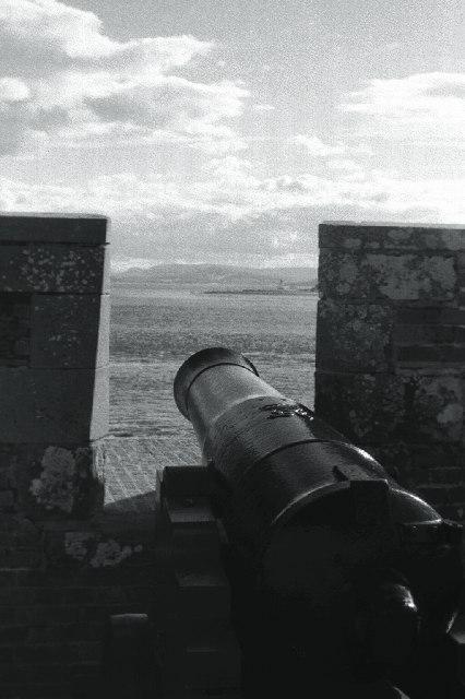 Battlement, Fort George, Inverness