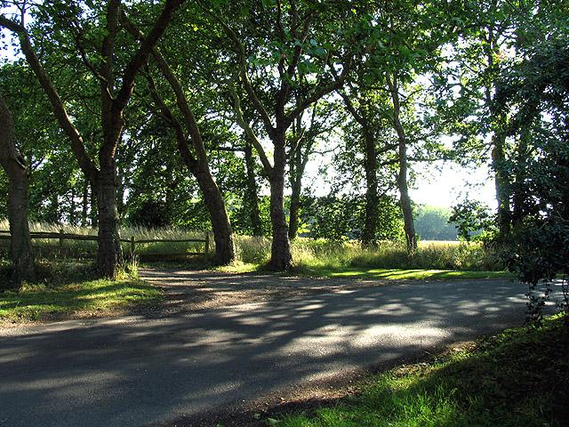 Farmland near Stratton Manor