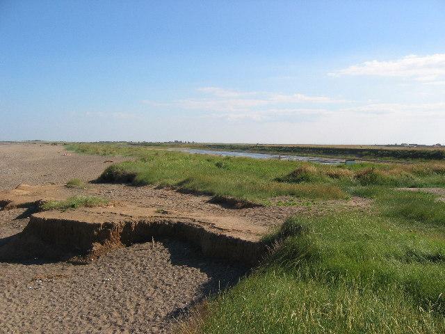 Pond at Easington Beach