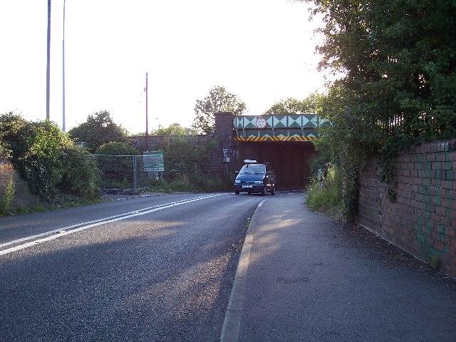 Allbrook - railway bridge