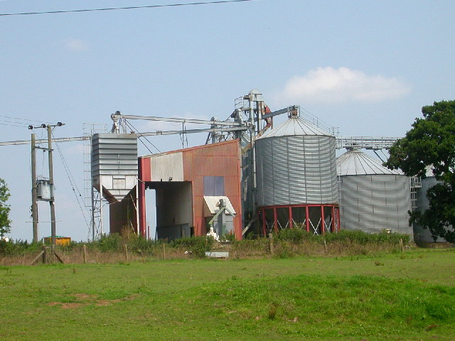 Working Grain Silo, Cantley