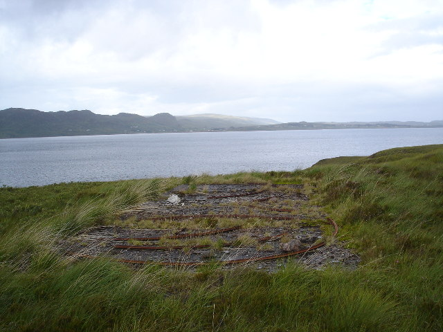 Remains of 2nd World War gun emplacement