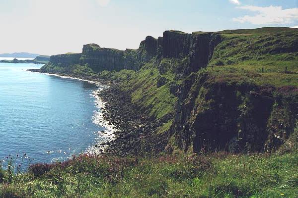 Coastline near Portree: Skye