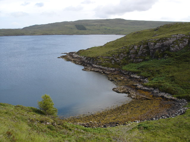Inlet on Loch Thurnaig
