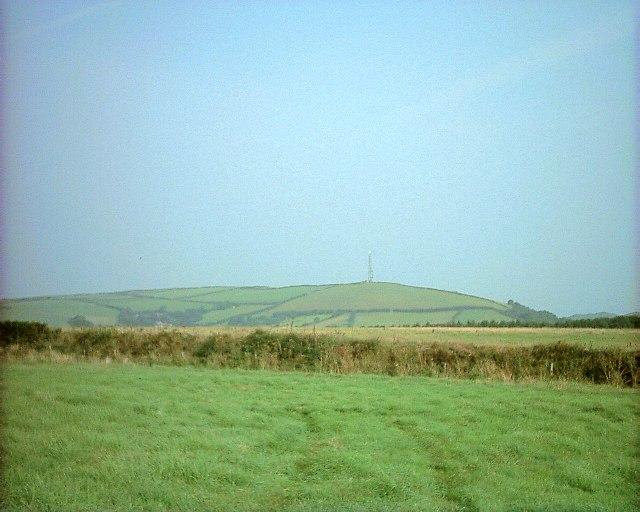 Fields near Mullacott Farm