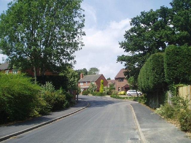 Strood Gate entrance road