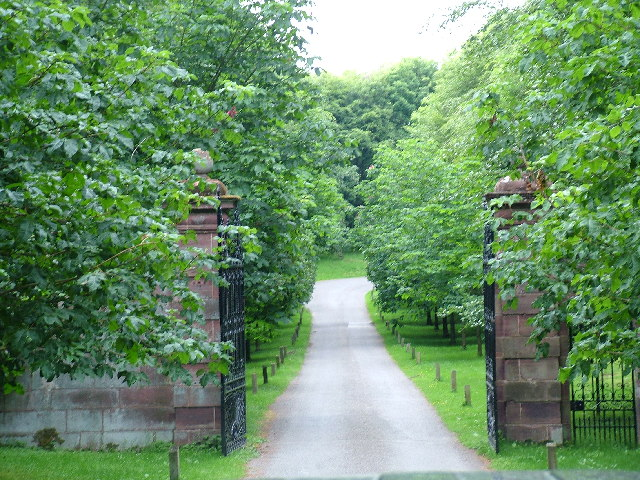 Gates Leaving Fyvie Castle