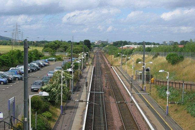 Musselburgh Railway Station.
